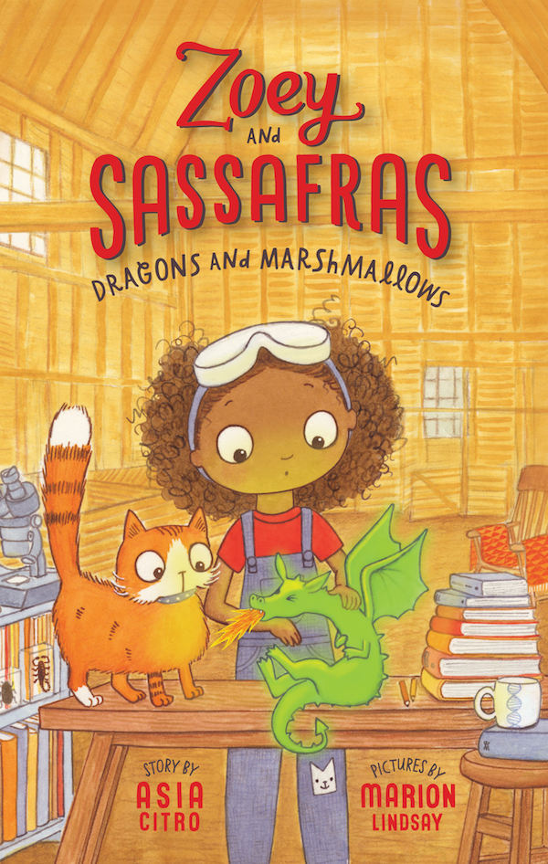 Book Review:  Zoey and Sassafras: Dragons and Marshmallows